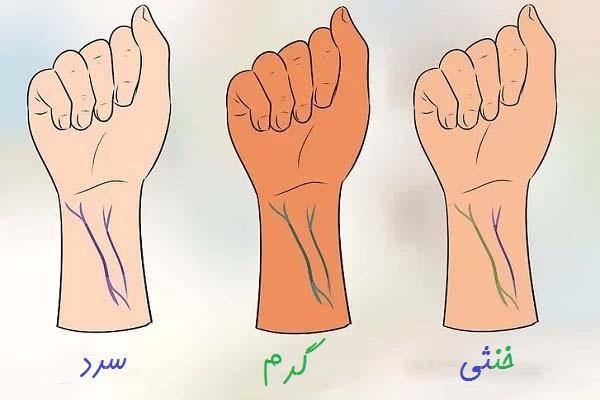 تشخیص رنگ پوست
